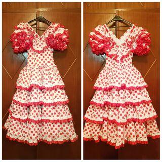 Vestido de sevillana clásico