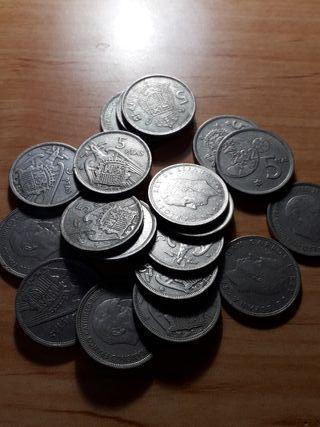 20 monedas