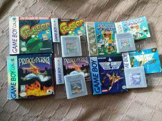 Lote varios juegos Gameboy