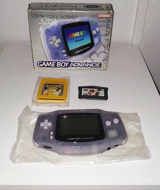 Game Boy Advance + Juegos