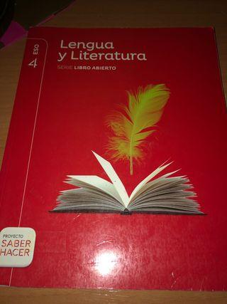 LIBRO DE LENGUA Y LITERATURA 4ESO