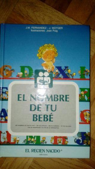 Libro El nombre de tu bebé