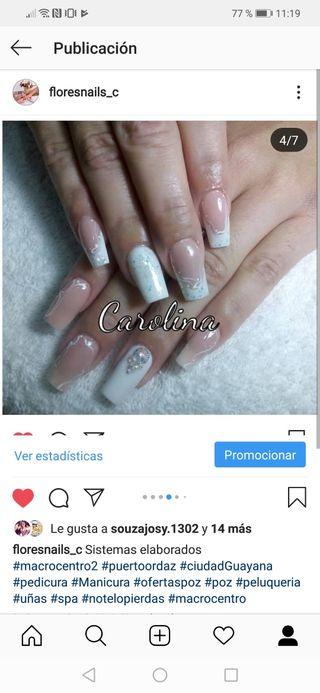 manicurista, pedic. y uñas artificiales