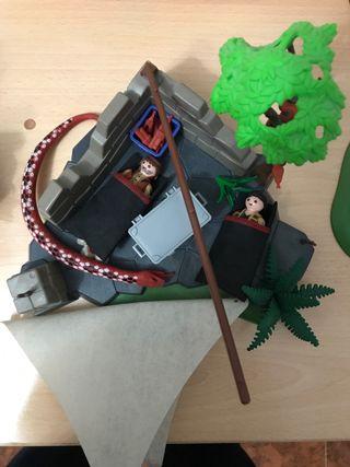 Tienda de campaña de Playmobil