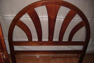 Cabecero de cama de madera maciza