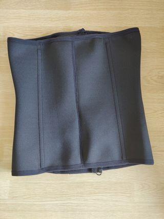 3 Clip&1 Zip 6 Steel Boned Waist Trainer Corset