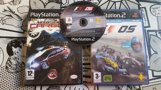 Need for Speed Carbono + F1 05 + F1 06 de regalo