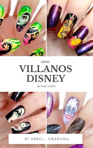 Curso Decoración Uñas Disney Granada
