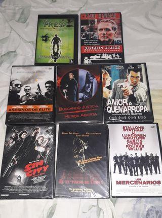 Películas en DVD de acción