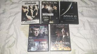 Películas en DVD de intriga y thriller