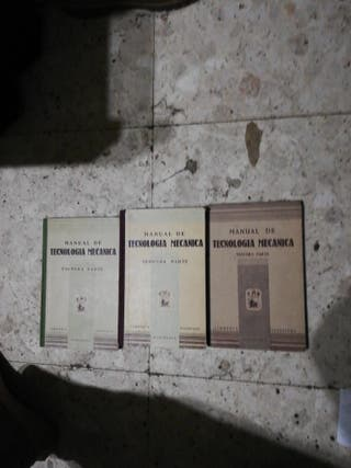 manual de tecnologia mecanica 3 tomos