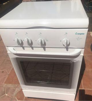 Cocina con horno a Gas Natural