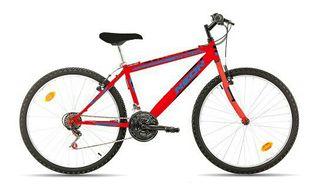 Bicicleta Neón 26 Pulgadas Roja Nueva a estrenar,