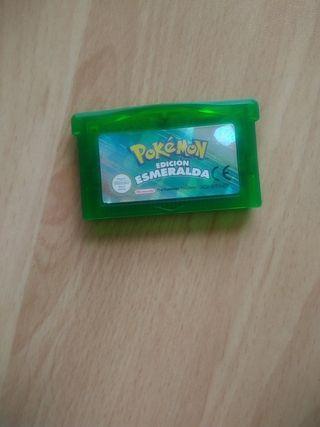 Pokemon edición Esmeralda GBA