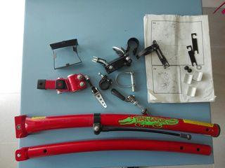 Barra para remolcar bicicletas trail-gator