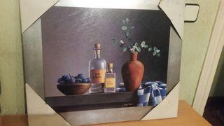 cuadro decoración bodegón moderno