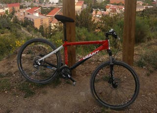 bicicleta btt mtb giant mountain bike