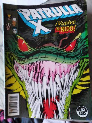 Comics Patrulla X