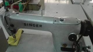 Maquina plana pesunte Singer