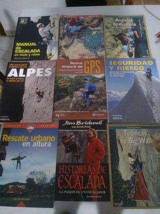 Libros montaña escalada triatlón