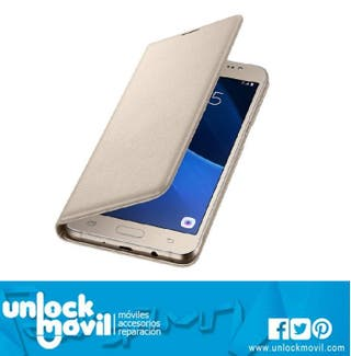 Funda Original Samsung Galaxy J5 2016 Gold