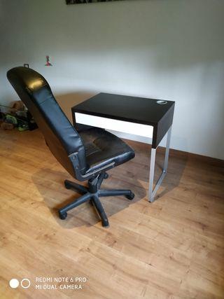escritorio + silla
