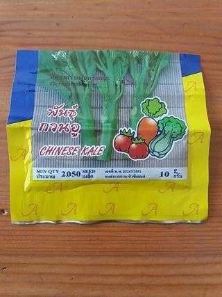 Semilla Chinese Kale Tailandia