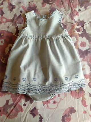 vestido Zara niña 6-12 meses
