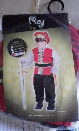 Disfraz Rey-principe 2 a 4 años