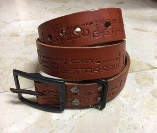 Cinturon cuero G-STAR