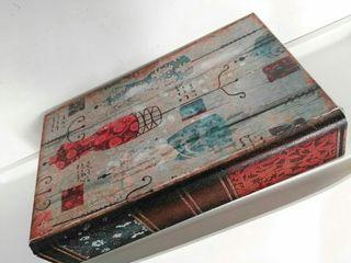 Caja Libro Madera