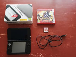 Nintendo 3DS XL Silver+Black