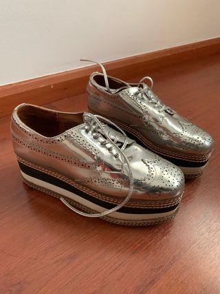c8985f209e1 Zapatos Oxford de segunda mano en la provincia de Barcelona en WALLAPOP