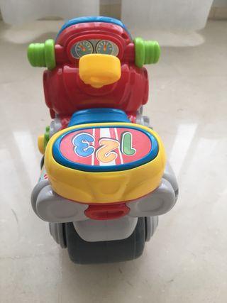 Mi primera moto Clementoni Baby