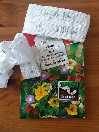 Semillas mixtas trepadoras para flores