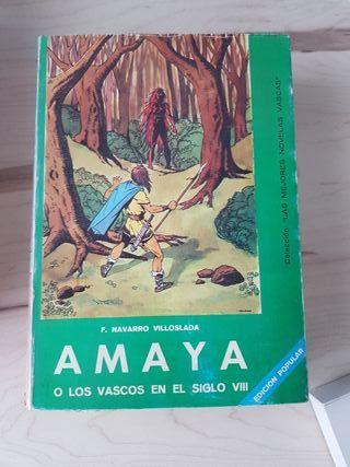 Libro Amaya o los vascos en el siglo VIII