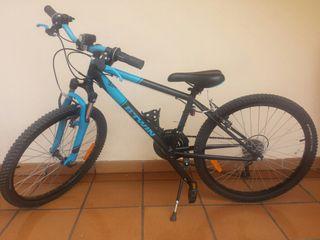 bici decathlon 24 pulgadas de niño
