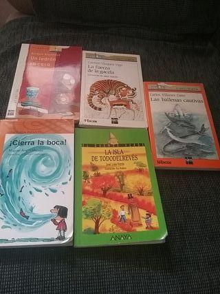 libros barco de vapor y otros