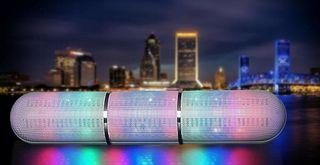 Altavoz XL speaker Bluetooth con luces LED incluid
