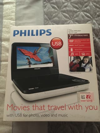 Phillips dvd player portable