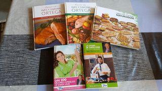 Libros de cocina y saber vivir
