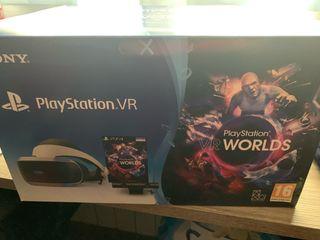 Gafas de realidad virtual Ps vr ps4+mandos move