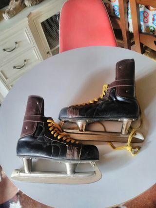 Patines hielo vintage