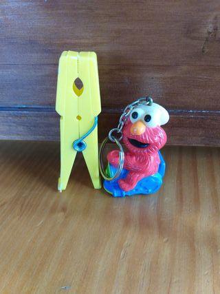 Llavero Elmo de Barrio Sesamo