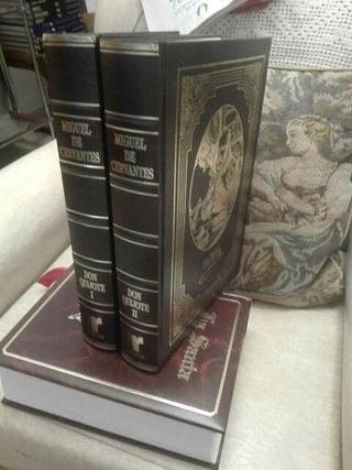 don Quijote edición 2 tomos