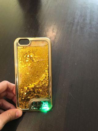 Carcasa para IPhone 6 con luz led