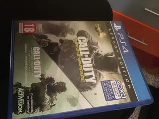Call of duty infinite warfare y mw remasterizado