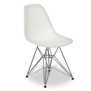 VITRA Silla visitantes DSR Plastic Chair Blancas
