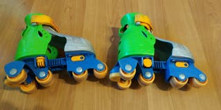 Patines infantiles. Fisher Price.