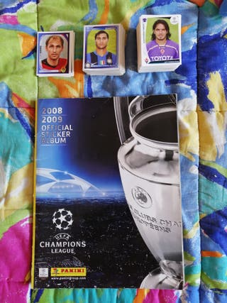 Lote cromos Champions League